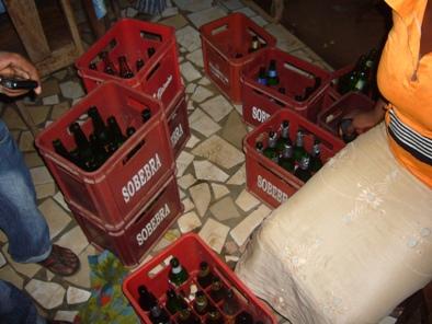 大量のビール.JPG